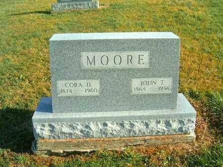 MOORE, JOHN  T - Brown County, Ohio | JOHN  T MOORE - Ohio Gravestone Photos