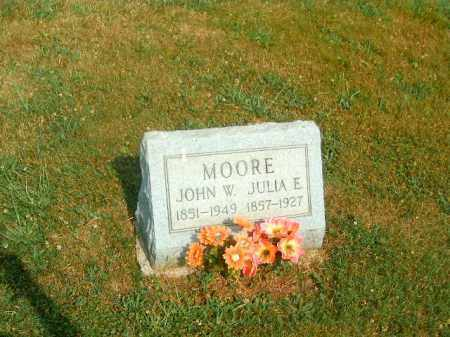 MOORE, JOHN  W - Brown County, Ohio | JOHN  W MOORE - Ohio Gravestone Photos