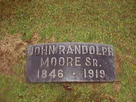 MOORE, JOHN  RANDOLPH  SR - Brown County, Ohio | JOHN  RANDOLPH  SR MOORE - Ohio Gravestone Photos