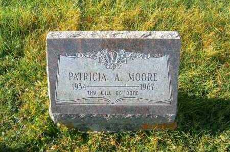MOORE, PATRICIA  A - Brown County, Ohio | PATRICIA  A MOORE - Ohio Gravestone Photos