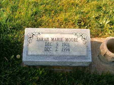 MOORE, SARAH  MARIE - Brown County, Ohio | SARAH  MARIE MOORE - Ohio Gravestone Photos