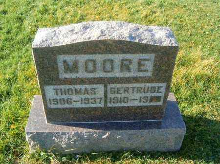 MOORE, THOMAS - Brown County, Ohio | THOMAS MOORE - Ohio Gravestone Photos