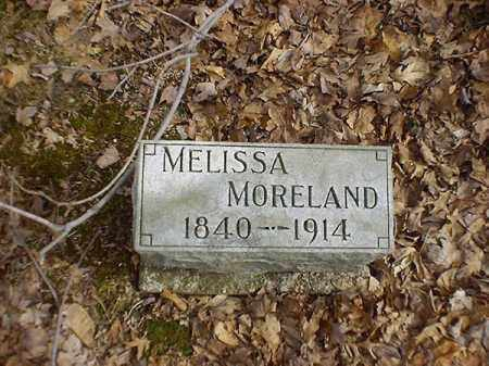MORELAND, MELISSA - Brown County, Ohio | MELISSA MORELAND - Ohio Gravestone Photos