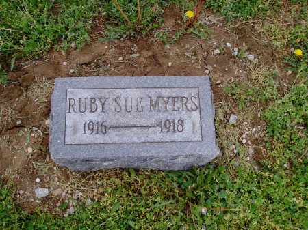 SUE MYERS, RUBY - Brown County, Ohio | RUBY SUE MYERS - Ohio Gravestone Photos