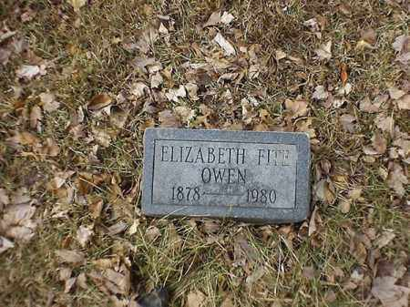 OWEN, ELIZABETH - Brown County, Ohio | ELIZABETH OWEN - Ohio Gravestone Photos