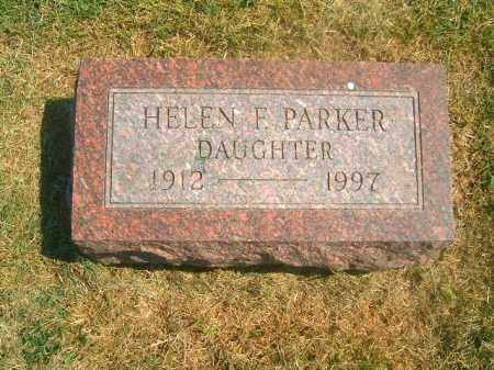 PARKER, HELEN   F - Brown County, Ohio | HELEN   F PARKER - Ohio Gravestone Photos