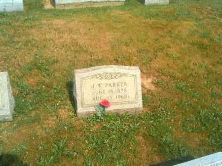 PARKER, J  W - Brown County, Ohio | J  W PARKER - Ohio Gravestone Photos