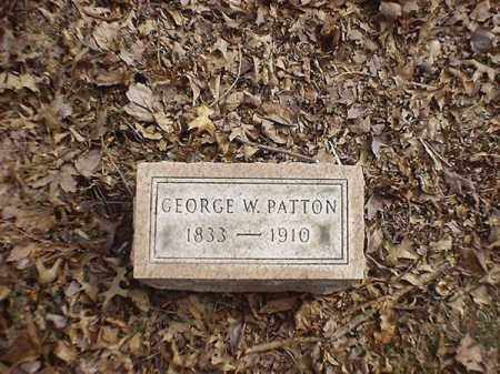 PATTON, GEORGE   W - Brown County, Ohio | GEORGE   W PATTON - Ohio Gravestone Photos