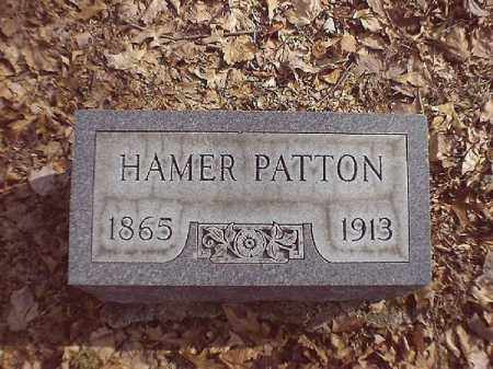 PATTON, HAMER - Brown County, Ohio | HAMER PATTON - Ohio Gravestone Photos