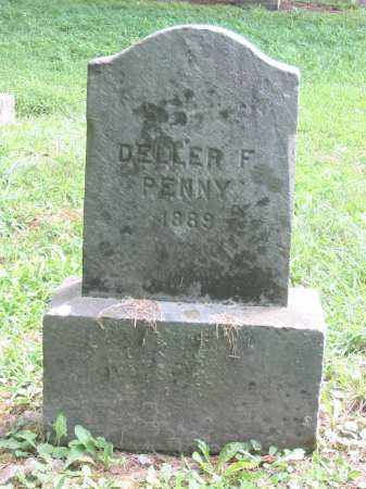 PENNY, DELLER F - Brown County, Ohio | DELLER F PENNY - Ohio Gravestone Photos