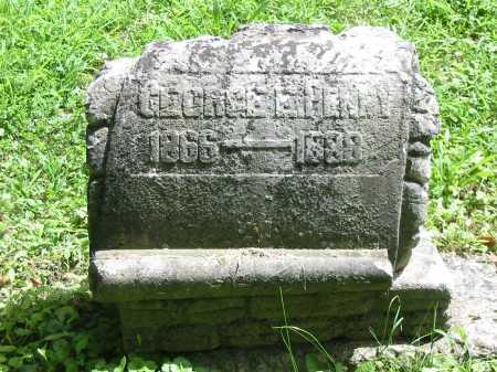 PENNY, GEORGE E - Brown County, Ohio | GEORGE E PENNY - Ohio Gravestone Photos