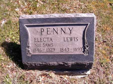 SAMS PENNY, ELECTA - Brown County, Ohio | ELECTA SAMS PENNY - Ohio Gravestone Photos