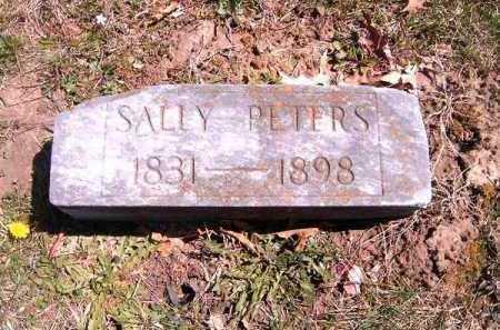 PETERS, SALLY - Brown County, Ohio | SALLY PETERS - Ohio Gravestone Photos