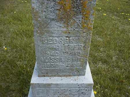 PITZER, MASSA - Brown County, Ohio | MASSA PITZER - Ohio Gravestone Photos