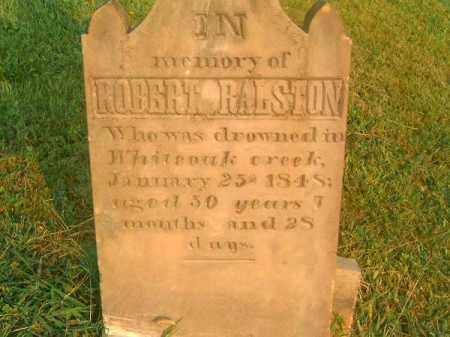 RALSTON, ROBERT - Brown County, Ohio | ROBERT RALSTON - Ohio Gravestone Photos