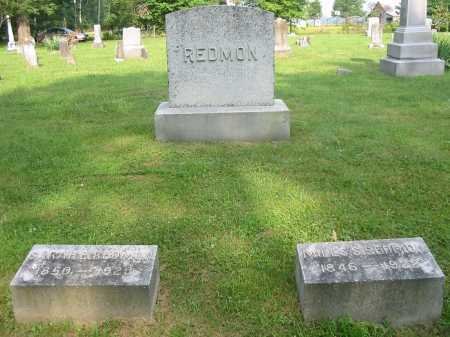LEONARD REDMON, SARAH E - Brown County, Ohio | SARAH E LEONARD REDMON - Ohio Gravestone Photos