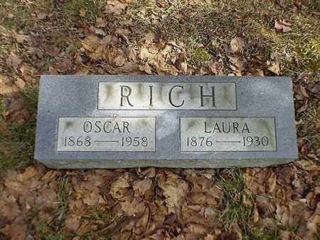 RICH, OSCAR - Brown County, Ohio | OSCAR RICH - Ohio Gravestone Photos