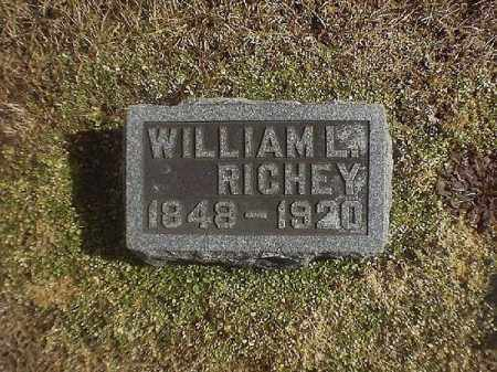 RICHEY, WILLIAM  L - Brown County, Ohio | WILLIAM  L RICHEY - Ohio Gravestone Photos