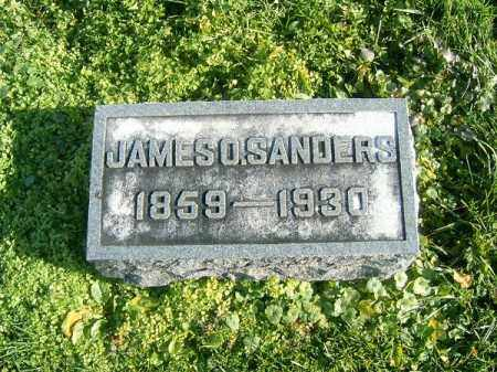 SANDERS, JAMES  O - Brown County, Ohio | JAMES  O SANDERS - Ohio Gravestone Photos