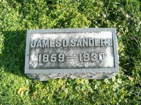 SANDERS, JAMES  O - Brown County, Ohio   JAMES  O SANDERS - Ohio Gravestone Photos