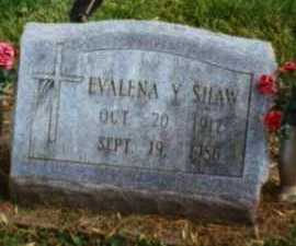 SHAW, EVALENA - Brown County, Ohio | EVALENA SHAW - Ohio Gravestone Photos