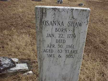 SHAW, JOSANNA - Brown County, Ohio | JOSANNA SHAW - Ohio Gravestone Photos