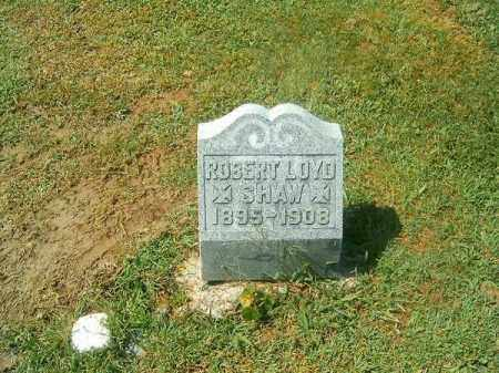 SHAW, ROBERT  LOYD - Brown County, Ohio | ROBERT  LOYD SHAW - Ohio Gravestone Photos