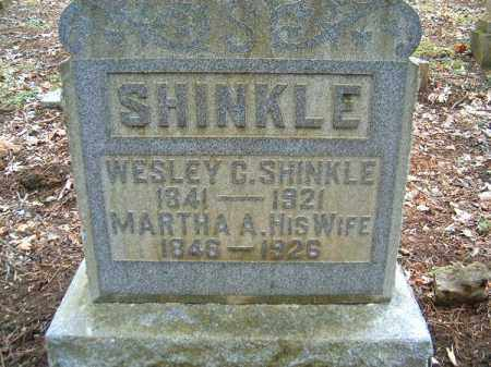 SHINKLE, MARTHA  A - Brown County, Ohio | MARTHA  A SHINKLE - Ohio Gravestone Photos
