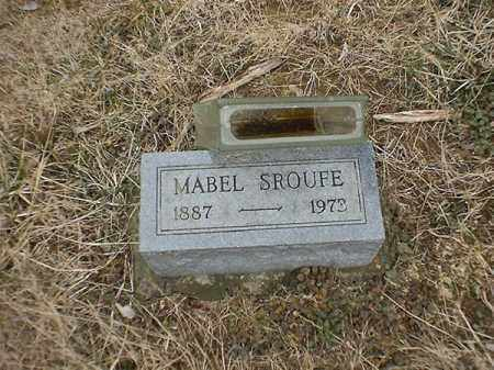 SROUFE, MABEL - Brown County, Ohio | MABEL SROUFE - Ohio Gravestone Photos