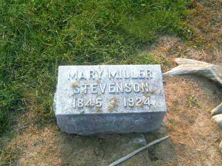 STEVENSON, MARY - Brown County, Ohio | MARY STEVENSON - Ohio Gravestone Photos