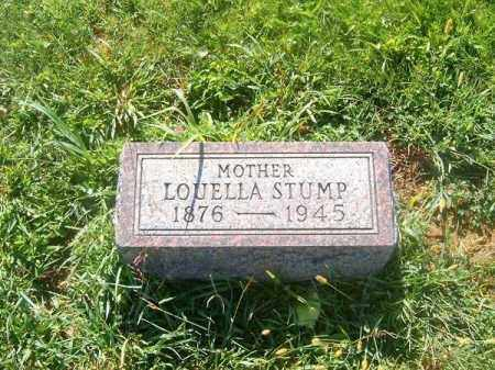 STUMP, LOUELLA - Brown County, Ohio | LOUELLA STUMP - Ohio Gravestone Photos