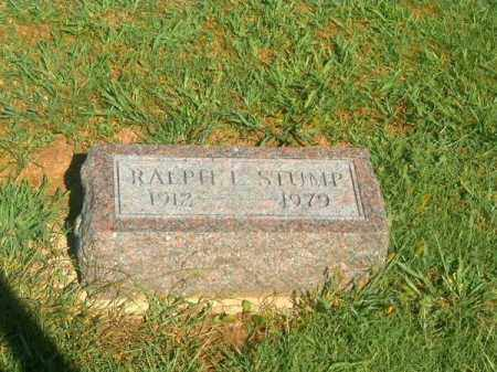 STUMP, RALPH   E - Brown County, Ohio | RALPH   E STUMP - Ohio Gravestone Photos