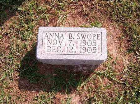 SWOPE, ANNA  B - Brown County, Ohio | ANNA  B SWOPE - Ohio Gravestone Photos