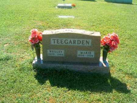 TEEGARDEN, MARIE - Brown County, Ohio | MARIE TEEGARDEN - Ohio Gravestone Photos