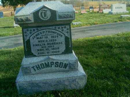 BURBAGE THOMPSON, AMELIA - Brown County, Ohio | AMELIA BURBAGE THOMPSON - Ohio Gravestone Photos
