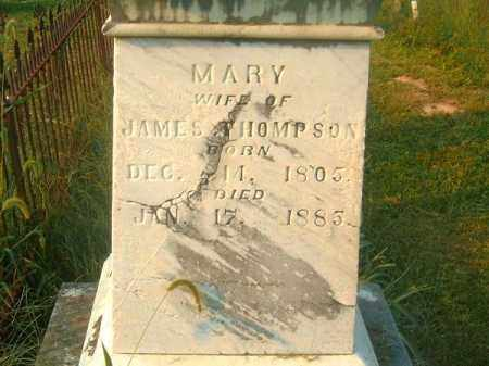THOMPSON, MARY - Brown County, Ohio | MARY THOMPSON - Ohio Gravestone Photos