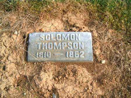 THOMPSON, SOLOMON - Brown County, Ohio | SOLOMON THOMPSON - Ohio Gravestone Photos