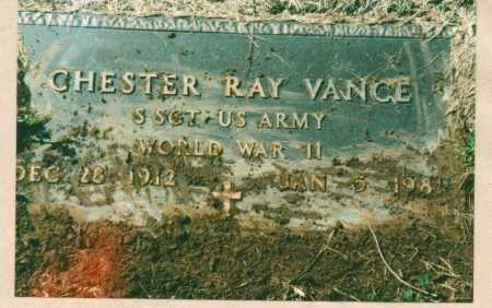 VANCE, CHESTER RAY - Brown County, Ohio | CHESTER RAY VANCE - Ohio Gravestone Photos