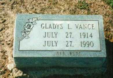 VANCE, GLADYS L. - Brown County, Ohio | GLADYS L. VANCE - Ohio Gravestone Photos