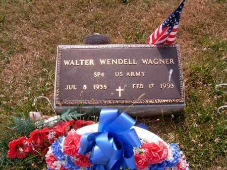 WAGNER, WALTER  WENDELL - Brown County, Ohio | WALTER  WENDELL WAGNER - Ohio Gravestone Photos