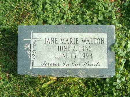 WALTON, JANE  MARIE - Brown County, Ohio | JANE  MARIE WALTON - Ohio Gravestone Photos