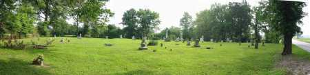 WARNER CEMETERY, PANORAMIC VIEW - Brown County, Ohio | PANORAMIC VIEW WARNER CEMETERY - Ohio Gravestone Photos