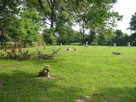 WARNER CEMETERY, VIEW 1- WESTNORTHWEST - Brown County, Ohio | VIEW 1- WESTNORTHWEST WARNER CEMETERY - Ohio Gravestone Photos