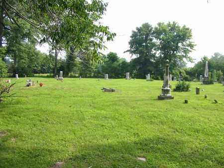 WARNER CEMETERY, VIEW 2- NORTHWEST - Brown County, Ohio   VIEW 2- NORTHWEST WARNER CEMETERY - Ohio Gravestone Photos