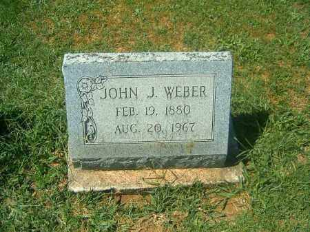 WEBER, JOHN  J - Brown County, Ohio | JOHN  J WEBER - Ohio Gravestone Photos
