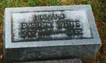 WHITE, EVERETT - Brown County, Ohio | EVERETT WHITE - Ohio Gravestone Photos