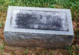 WHITE, GEORGE - Brown County, Ohio | GEORGE WHITE - Ohio Gravestone Photos