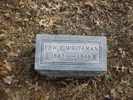 WHITEHEAD, EDW   F - Brown County, Ohio | EDW   F WHITEHEAD - Ohio Gravestone Photos