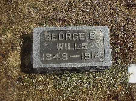WILLS, GEORGE   B - Brown County, Ohio | GEORGE   B WILLS - Ohio Gravestone Photos