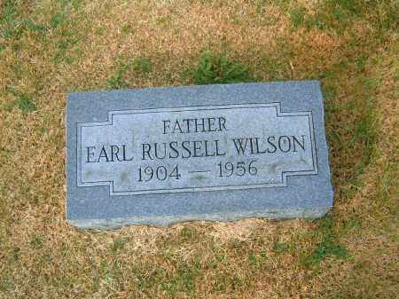 WILSON, EARL  RUSSELL - Brown County, Ohio | EARL  RUSSELL WILSON - Ohio Gravestone Photos